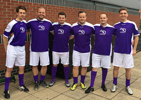 Anderson Barrowcliff LLP's Annual Football Tournament raises over £500 for the Butterwick Hospice image